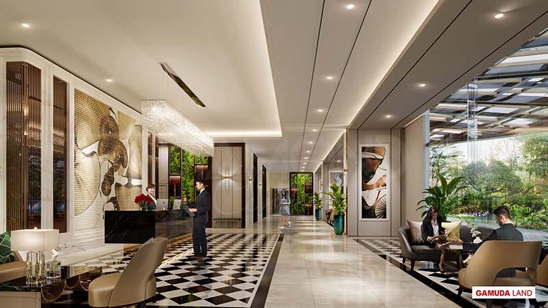 lobby diamond centery celadon city tan phu